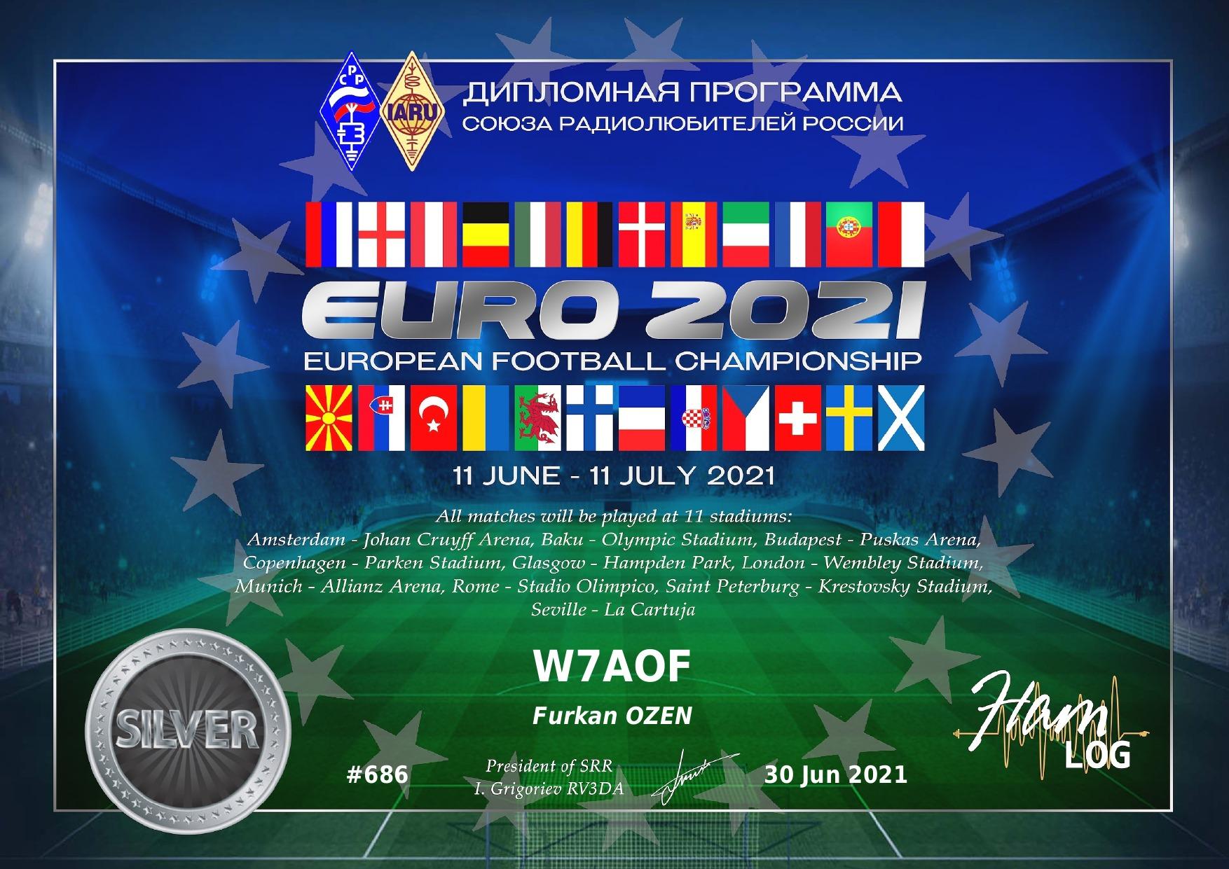 euro2021 award silver
