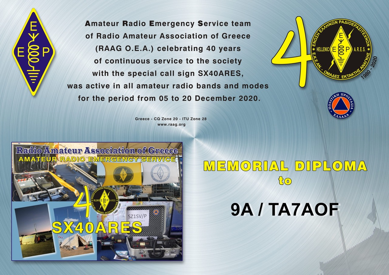 SX40ARES DIPLOMA