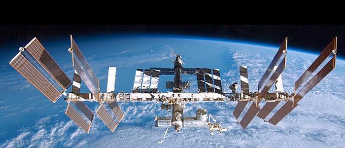 ISS – Uluslararası Uzay İstasyonu'ndan resim aldım