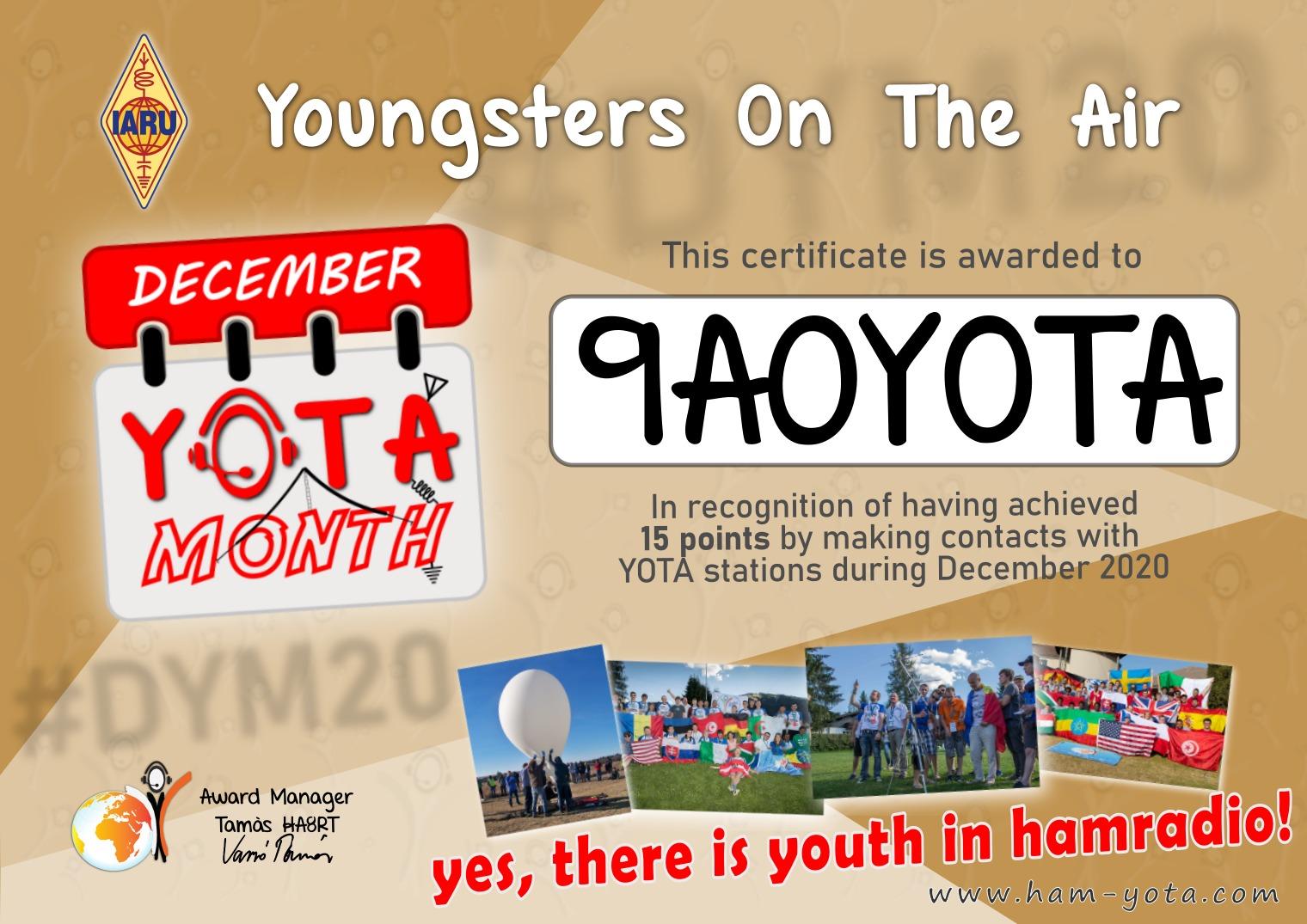yota award 1