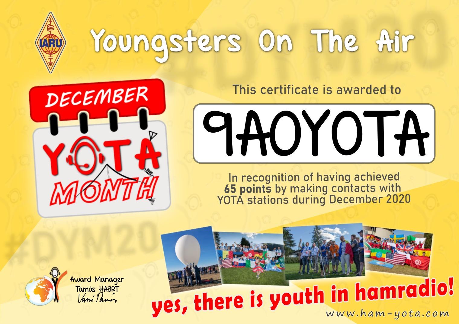 yota award 3